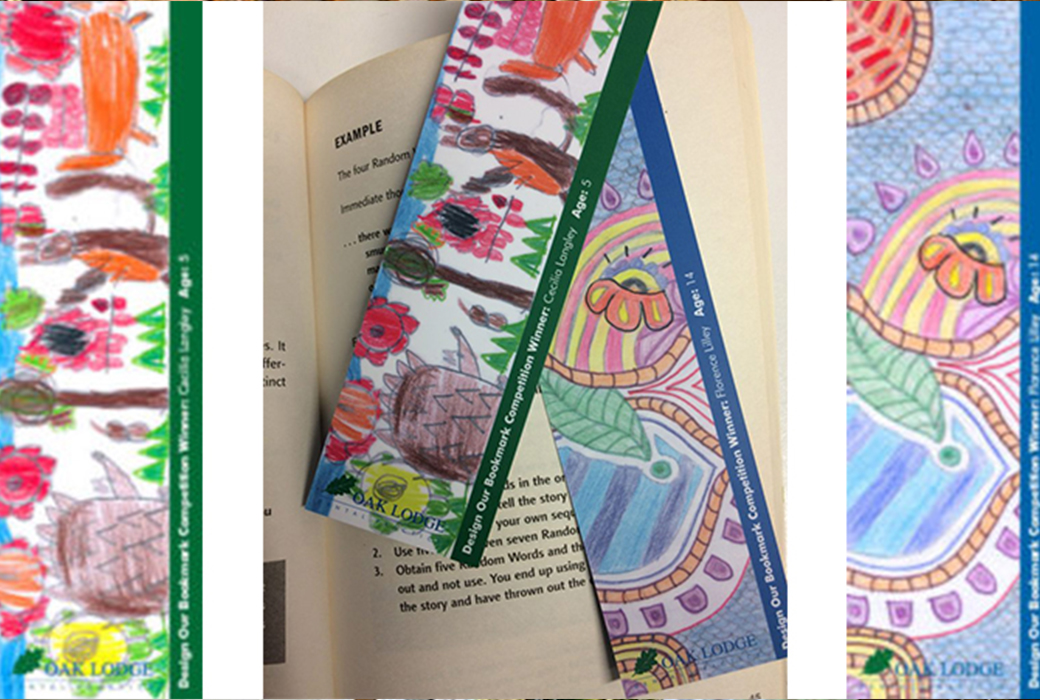 Oak lodge dental book mark competition
