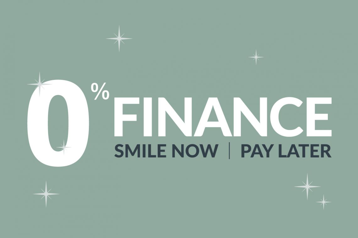 0% Finance smile now pay later